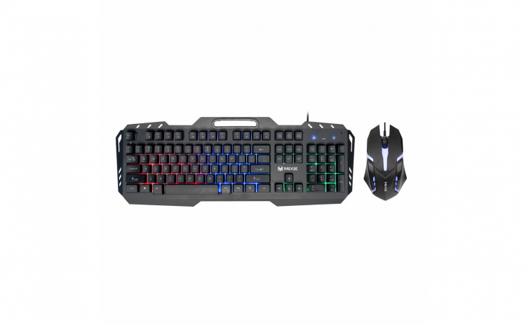 Set tastatura mouse gaming rgb mecanica
