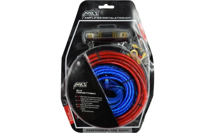 Set cablu + sigurante pentru subwoofer