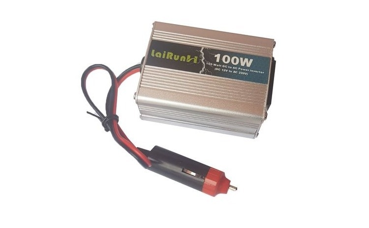 Invertor tensiune 12V-220V Lairun, 100 W