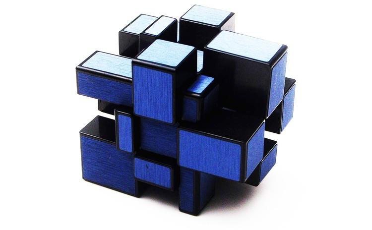 Cub Rubik 3x3x3 QiYi Mirror Luminos,