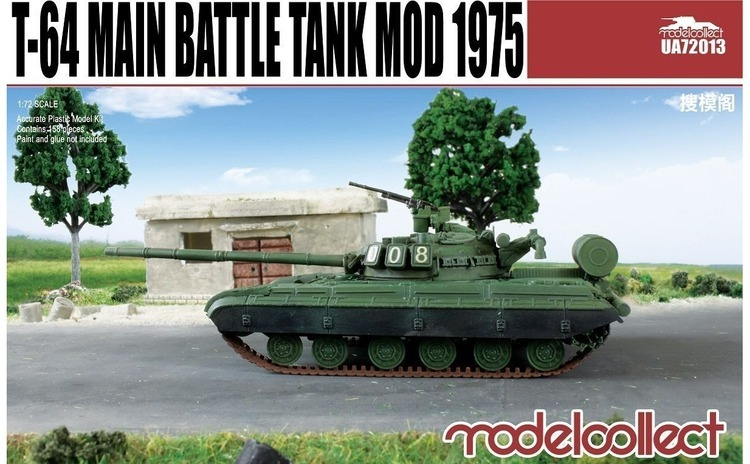 1:72 T-64B Main Battle Tank Mod 1975