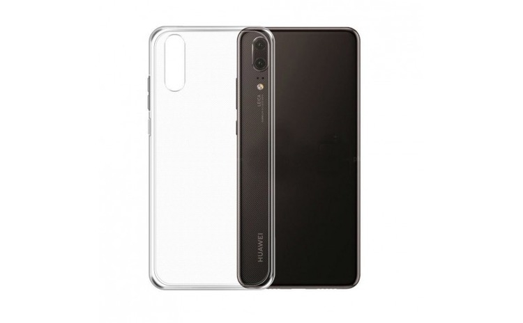 Husa Huawei P20 Flippy Tpu Transparent 0.1 mm