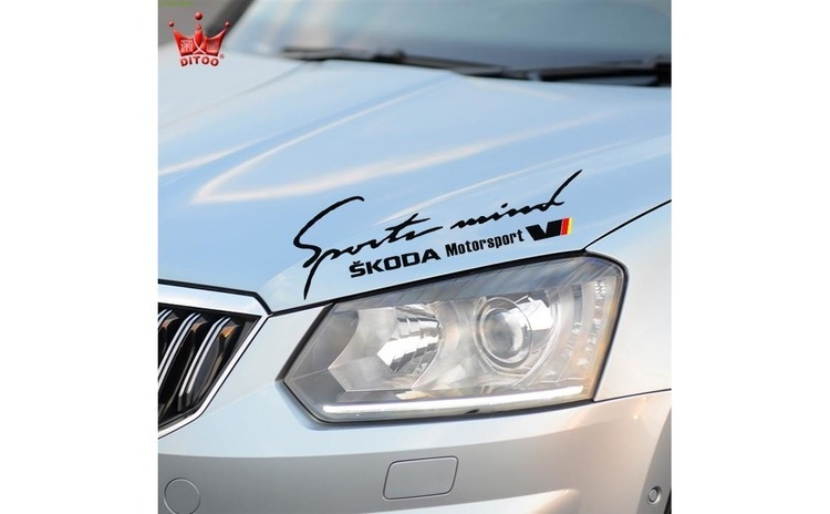 Sticker Sports Mind Skoda