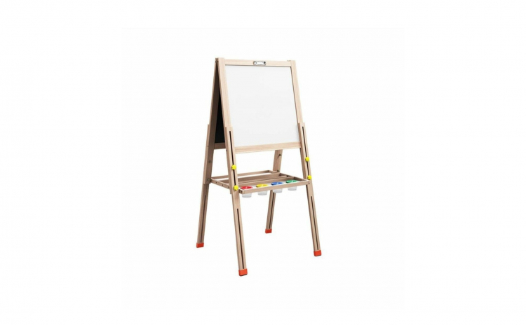 Tabla educativa din lemn, reglabila