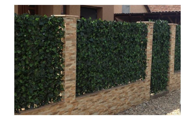 Gard viu artificial sintetic, 1 x 3 m