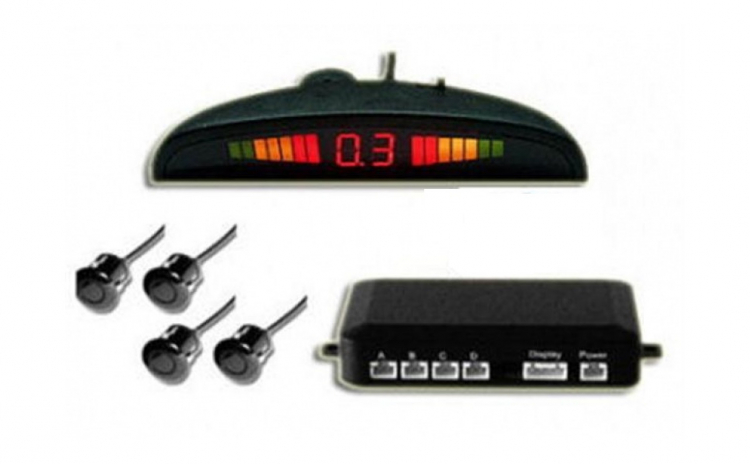 Set 4 senzori parcare afisaj si sunet