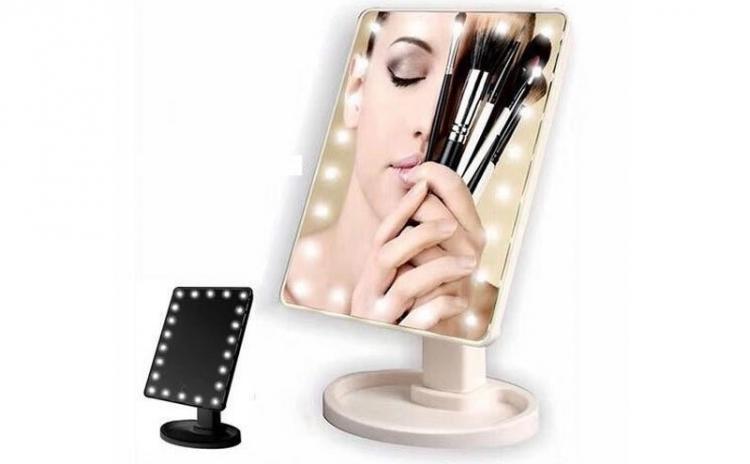 Oglinda cosmetica iluminata