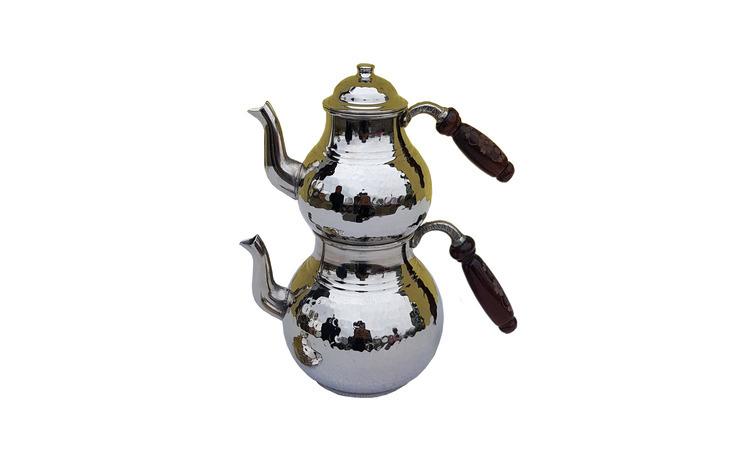 Ceainic turcesc din cupru EHA, 2 buc/set