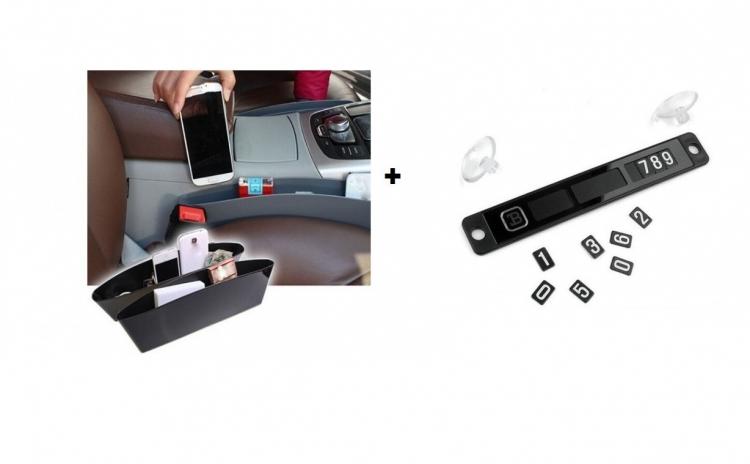 Pachet auto: Numar telefon + Organizator