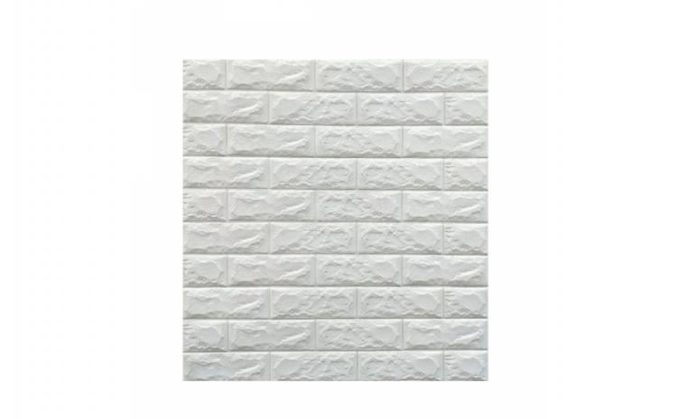 Tapet autoadeziv caramizi albe,77 x 70cm