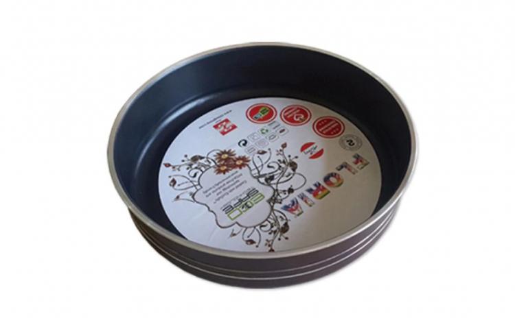 Tava cuptor rotunda din aluminiu teflona