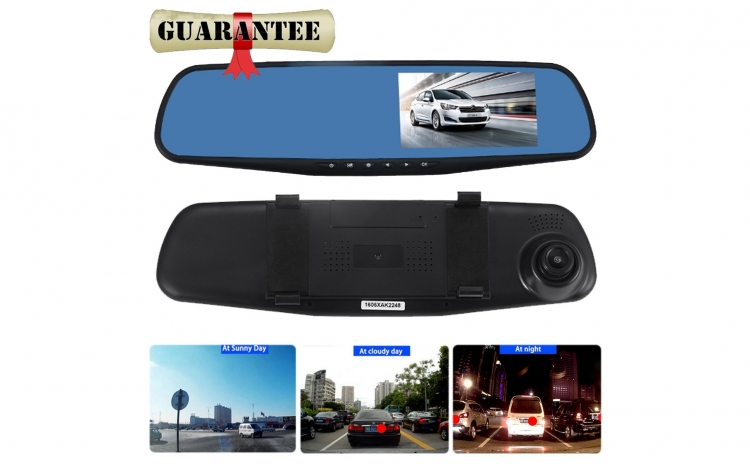 Oglinda cu camera Full HD+cadou ochelari