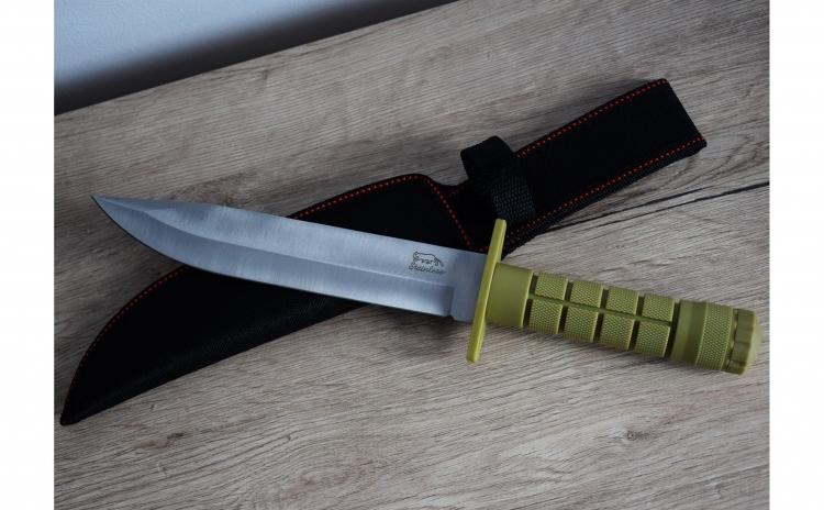 Cutit baioneta 33 cm cu maner ergonomic