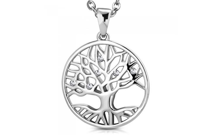 Pandantiv inox cu copacul vietii si