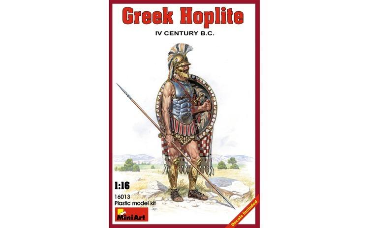 1:16 Greek Hoplite.   IV century  B.C.