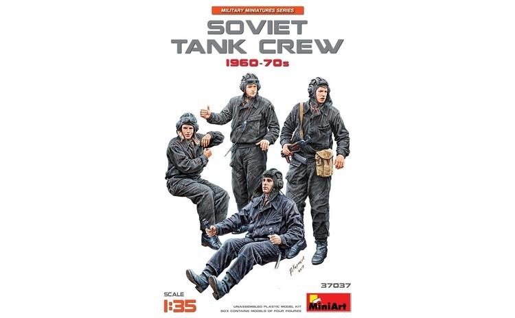 1:35 1:35 SOVIET TANK CREW 1960-70s - 5
