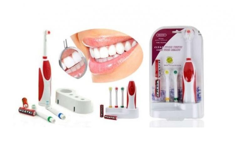 Periuta de dinti electrica cu 3 capete