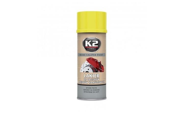 K2 Vopsea spray etrier galben 400 ml