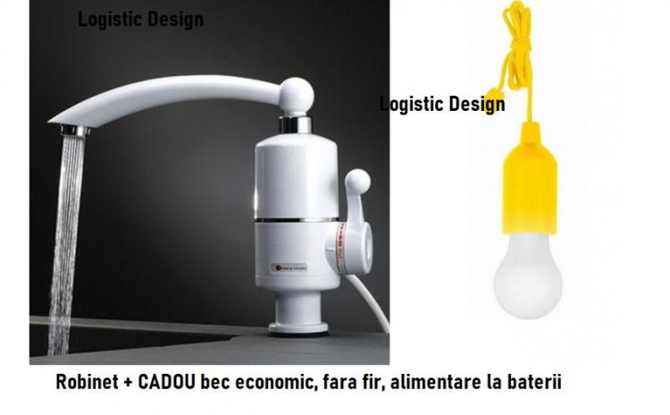Robinet Instant apa calda + Cadou bec