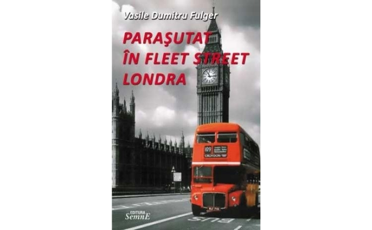 Parasutat in Fleet Street Londra, autor