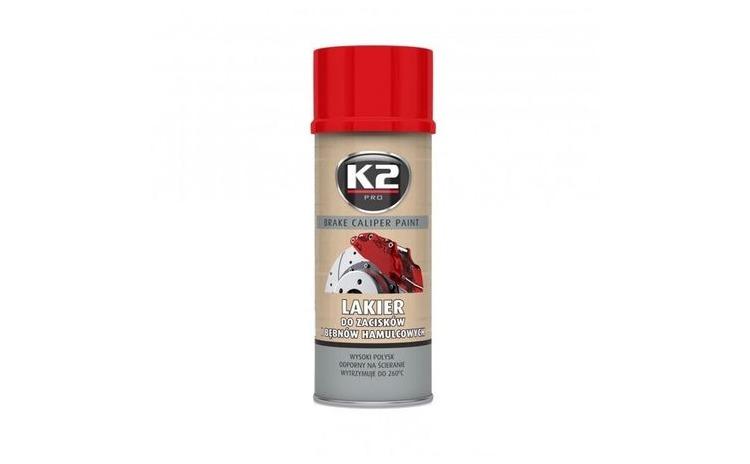K2 Vopsea spray etrier rosu 400 ml