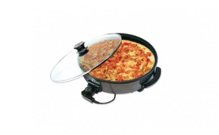 Tigaie electrica rotunda, pizza grill