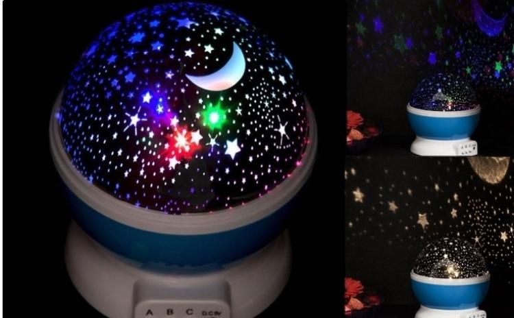 Lampa De Veghe Star Master Proiector Rotativ Cu Stele S