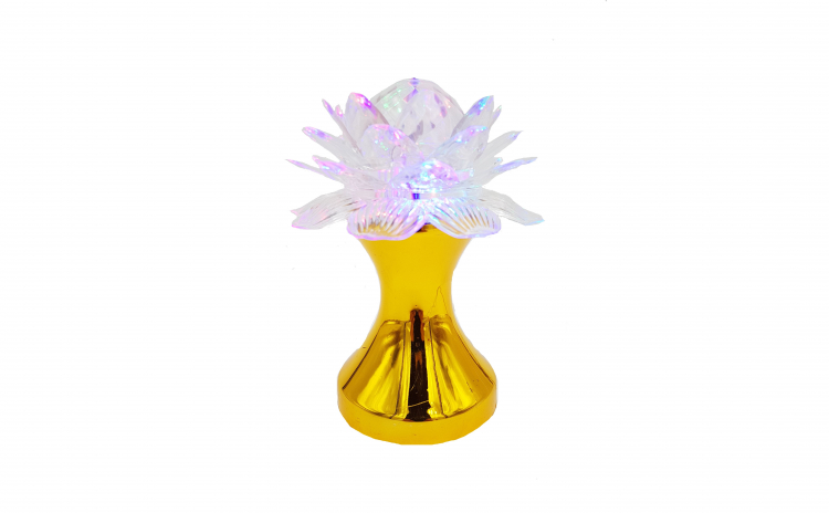 Lampa disco, floare