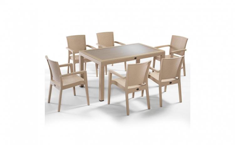Set mobilier terasa / gradina  bej