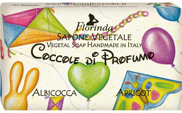 Sapun vegetal cu caise pentru copii