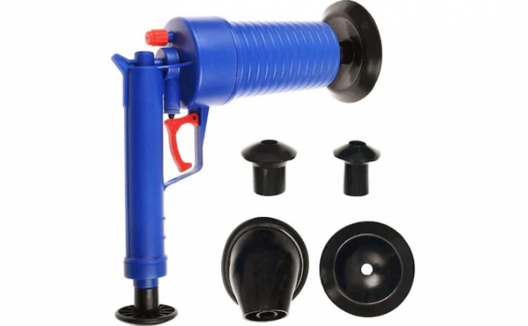 Pompa cu aer comprimat cu 4 accesorii
