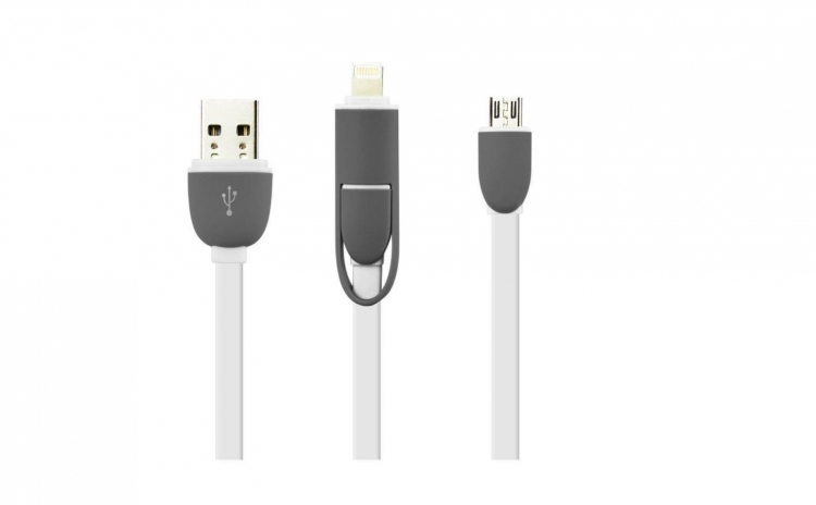 Cablu de date 2 In 1 Iphone 5/6