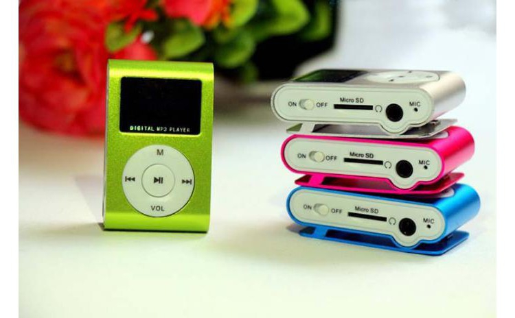MP3 player cu display