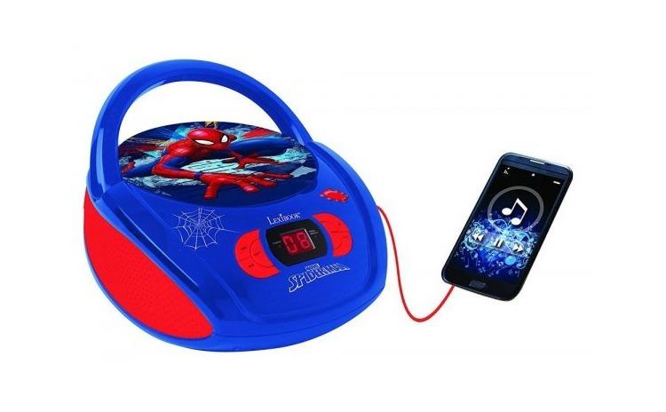 BOOMBOX RADIO CD PLAYER SPIDERMAN