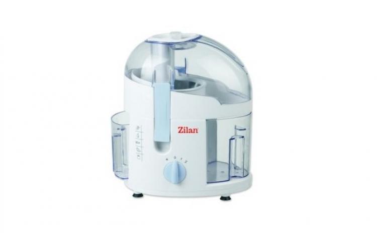 Storcator de fructe ZILAN ZLN-7924, Putere 250W, 2 Viteze, Recipient pentru suc 0.900 l, Alb, la 99 RON