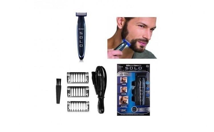 Aparat profesional de barbierit, cu micro precizie, Solo