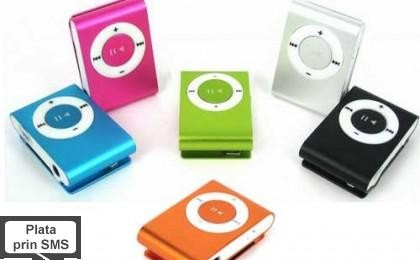 Iti place sa asculti muzica? MP3 Player tip Ipod Shuffle, la 34 RON in loc de 110 RON