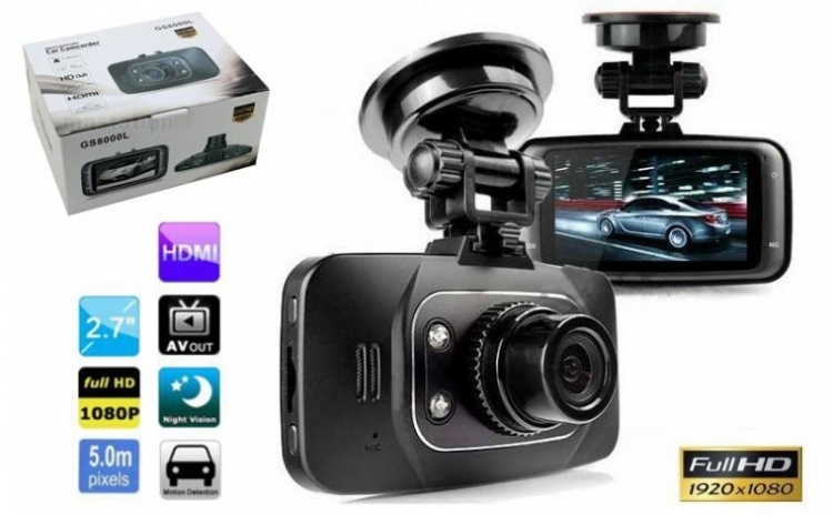 Camera video auto GS8000L Full HD