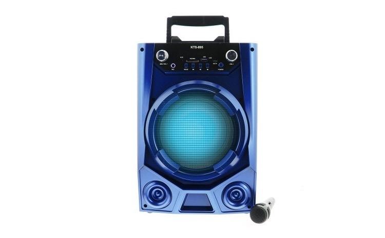 Boxa portabila bluetooth+Microfon cadou