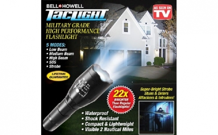 Lanterna profesionala cu lupa si zoom