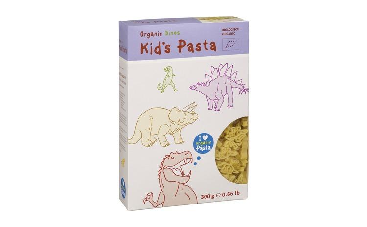 Paste pentru copii dinozauri 300g Alb