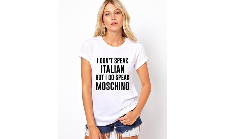 Tricou dama alb  - I speak