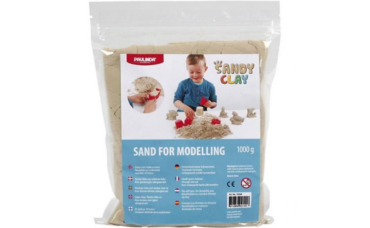 Nisip Kinetic Sandy Clay  Natural  1kg