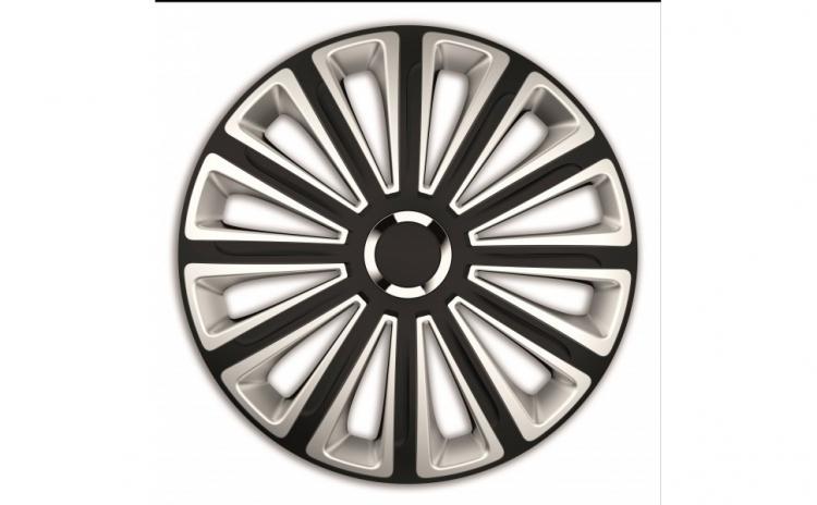 Set capace roti 16` silver and black cu