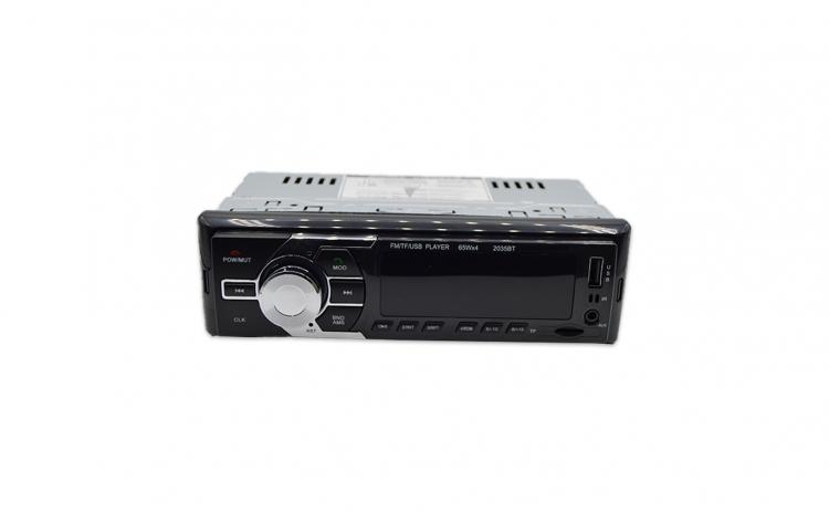Radio MP3 1DIN cu BT, ecran LCD