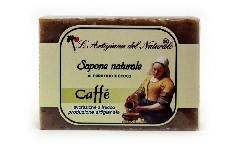 Sapun natural cu extract de cafea