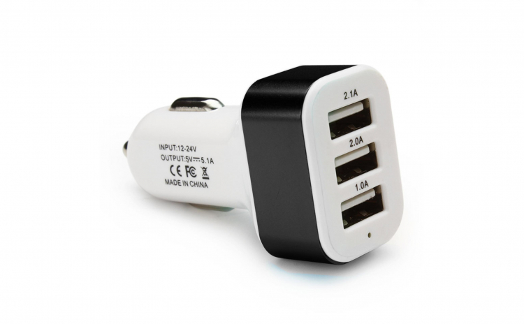 Adaptor Priza Bricheta 12-24V Auto 3 USB