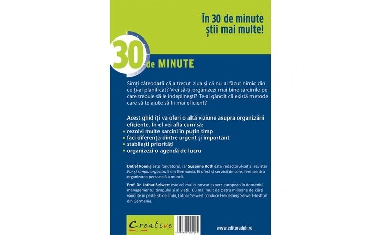 Organizeaza-Te Eficient In 30 De Minute