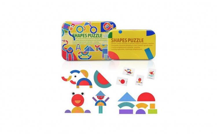 Puzzle Shapes, Jucarie Educativa Puzzle