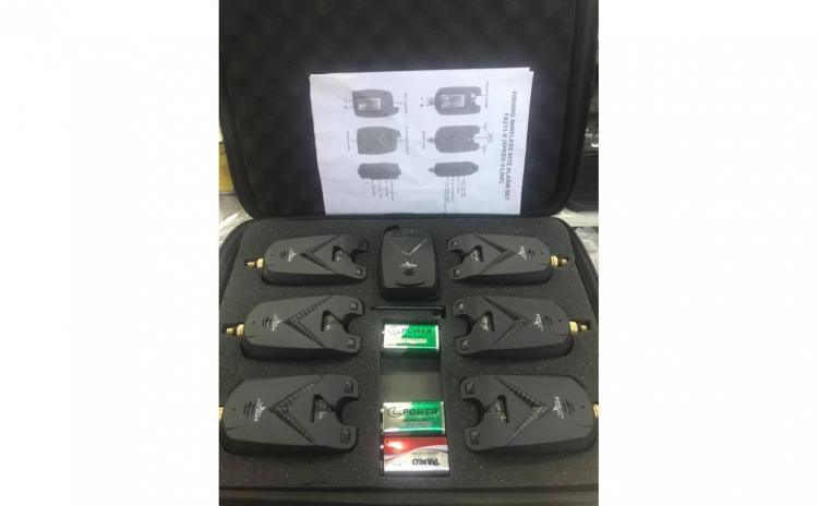 Set Senzori 6+1 EastShark cu penar